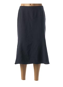 Jupe mi-longue bleu FRANCOISE F pour femme