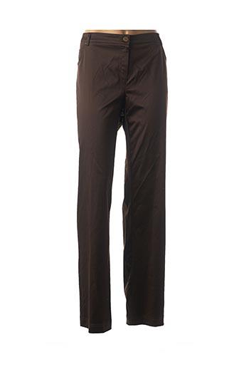 Pantalon casual marron ATIAN pour femme
