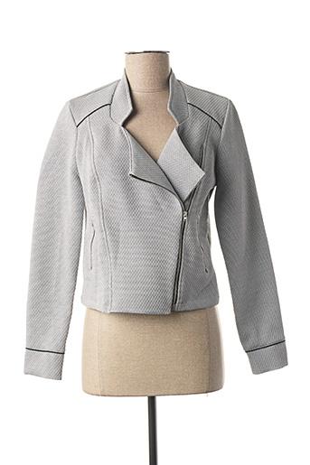 Veste casual gris MADO ET LES AUTRES pour femme