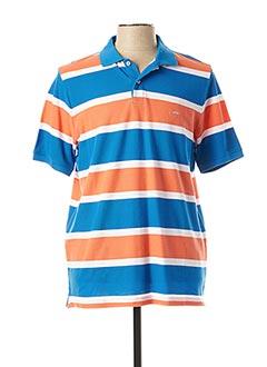 Polo manches courtes orange FYNCH-HATTON pour homme