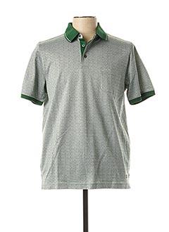 Polo manches courtes vert FYNCH-HATTON pour homme