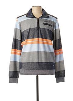 Sweat-shirt orange MONTE CARLO pour homme