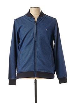Veste casual bleu FYNCH-HATTON pour homme