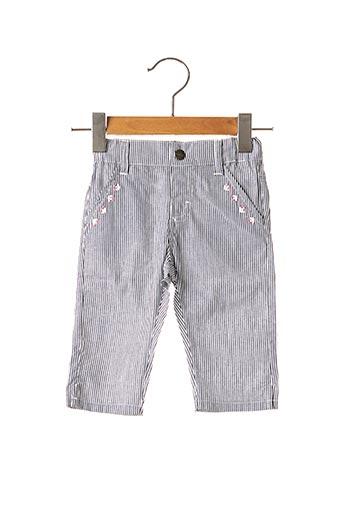 Pantalon casual bleu NANO & NANETTE pour fille