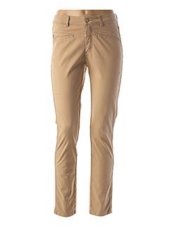 Pantalon casual marron ONE STEP pour femme