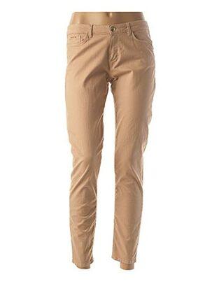 Pantalon 7/8 beige ONE STEP pour femme