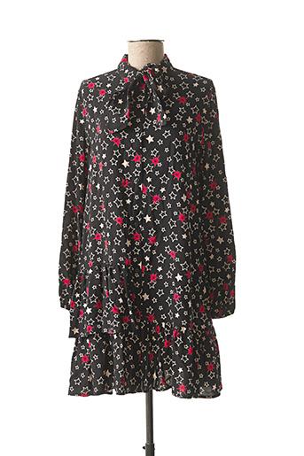Robe mi-longue noir PLEASE pour fille