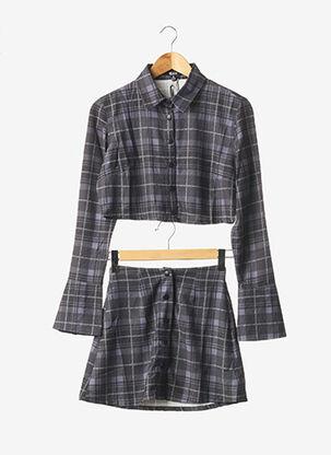 Veste/jupe gris POSTER GIRL pour femme