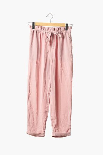 Pantalon casual rose DIVIDED H&M pour femme