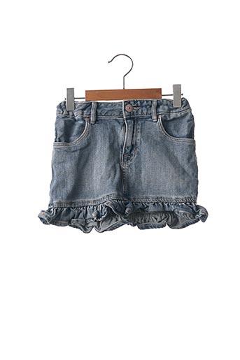 Jupe mi-longue bleu H&M pour fille