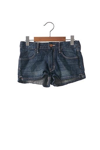 Short bleu H&M pour fille