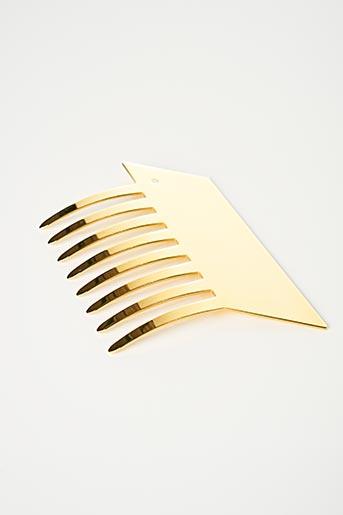 Accessoire pour cheveux jaune SANS MARQUE pour femme