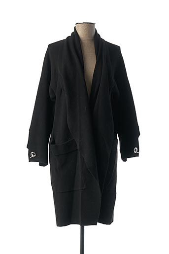 Manteau long bleu LA FEE MARABOUTEE pour femme