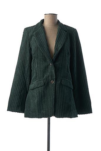 Veste chic / Blazer vert LA FEE MARABOUTEE pour femme