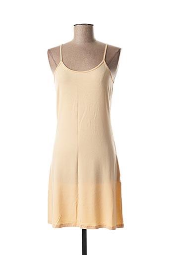Jupon /Fond de robe rose LA FEE MARABOUTEE pour femme