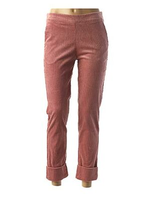Pantalon casual rose LA FEE MARABOUTEE pour femme