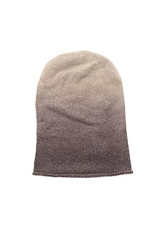 Bonnet beige LA FEE MARABOUTEE pour femme