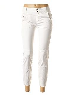 Pantalon 7/8 blanc STRENESSE pour femme