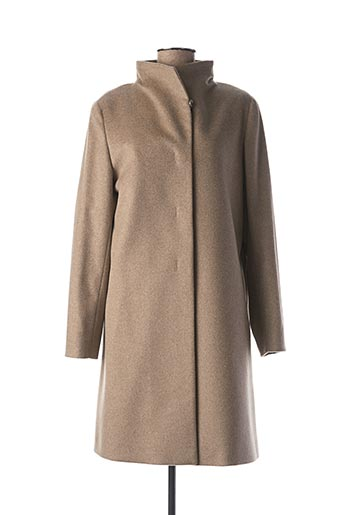 Manteau long beige CINZIA ROCCA pour femme