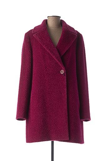 Manteau long violet CINZIA ROCCA pour femme