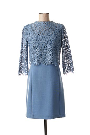 Robe courte bleu TWINSET pour femme