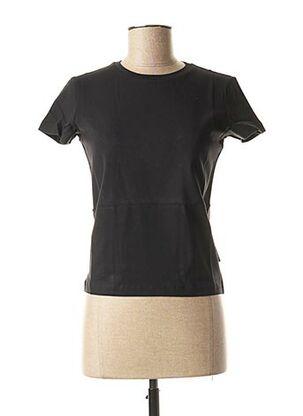 T-shirt manches courtes noir WEEKEND MAXMARA pour femme