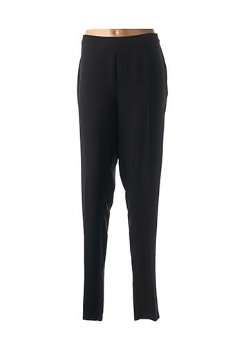 Pantalon chic noir MARINA RINALDI pour femme