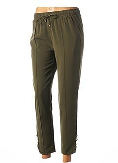 Pantalon 7/8 vert LIU JO pour femme