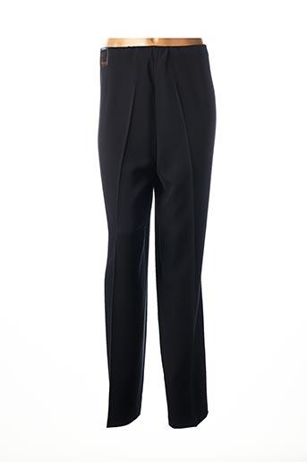 Pantalon 7/8 noir FRANK LYMAN pour femme