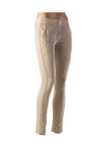 Pantalon casual beige SPORTALM pour femme