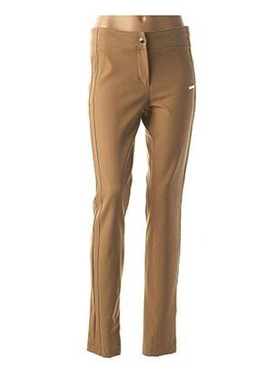 Pantalon casual marron SPORTALM pour femme