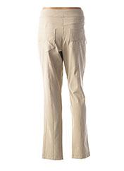 Pantalon casual beige SPORTALM pour femme seconde vue