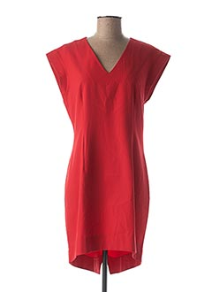 Robe mi-longue rouge MADE OF EMOTION pour femme
