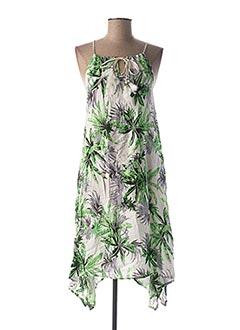 Robe mi-longue vert J.STARS pour femme
