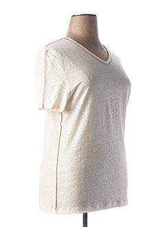 T-shirt manches courtes blanc ANANKE pour femme