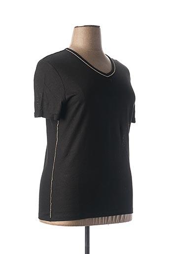 T-shirt manches courtes noir ANANKE pour femme