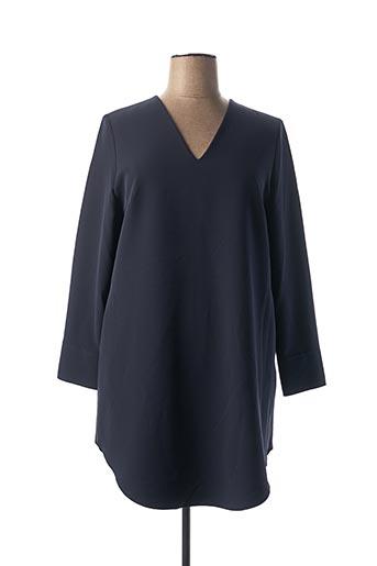 Robe courte bleu ETXART&PANNO pour femme