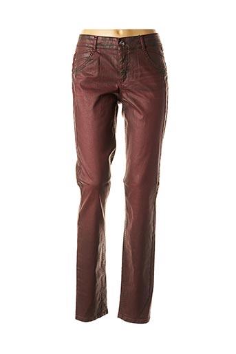 Pantalon casual rouge ATELIER GARDEUR pour femme