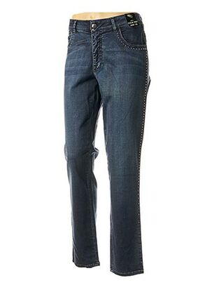 Jeans skinny bleu ANGELO MARANI pour femme