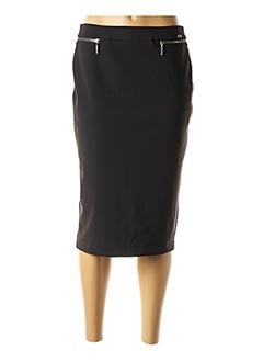 Jupe mi-longue noir AIRFIELD pour femme