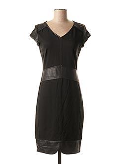 Robe mi-longue noir AIRFIELD pour femme