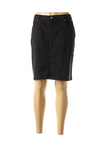 Jupe mi-longue noir ANAKE pour femme
