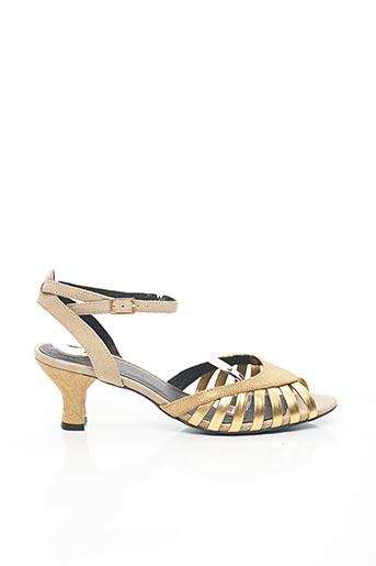 Sandales/Nu pieds beige CATHERINE PARRA pour femme