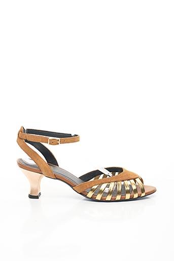 Sandales/Nu pieds marron CATHERINE PARRA pour femme