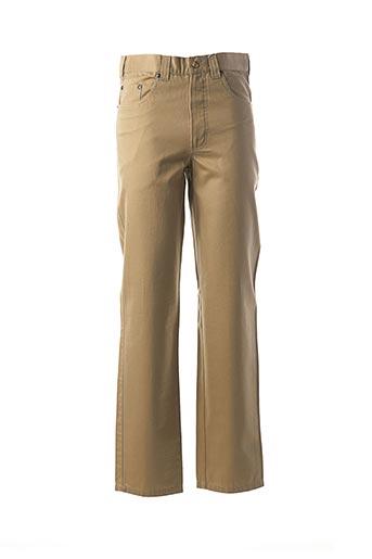 Pantalon casual beige CH. K. WILLIAMS pour homme