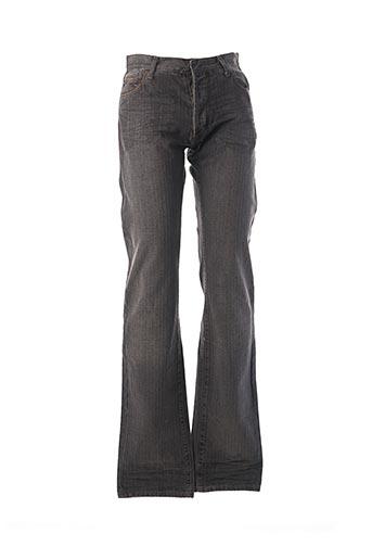 Pantalon casual gris FERRE pour homme