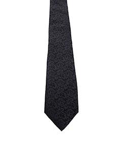 Cravate noir JEAN DE SEY pour homme