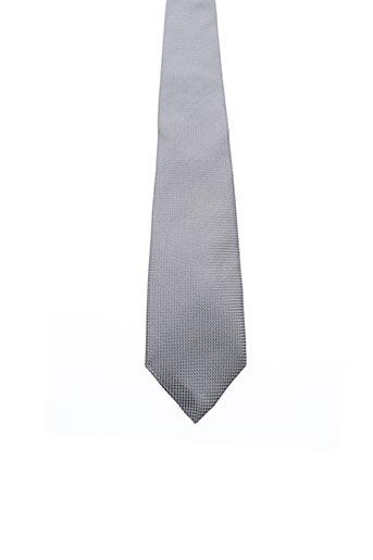 Cravate gris ALTA CALIDAD pour homme
