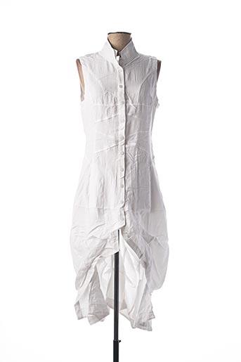 Robe mi-longue gris FRANSTYLE pour femme