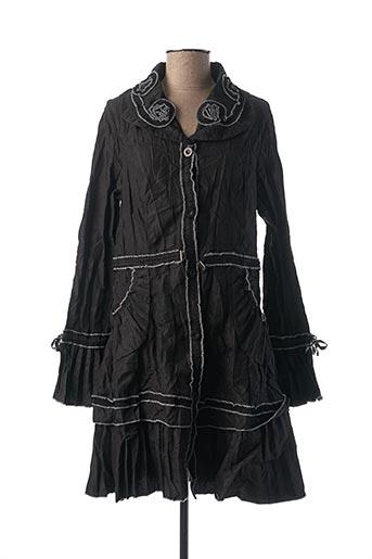 Veste casual noir FRANSTYLE pour femme